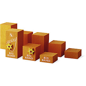 Angels Reichel Big Band Decorative Cube Set Big Band