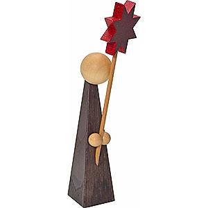 Kleine Figuren & Miniaturen Kurrende Dekofigur Kurrende mit Stern - 11 cm