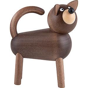 Small Figures & Ornaments Martin Animals Dog Willi - Grey - 9 cm / 3.5 inch