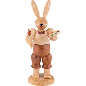 Small Figures & Ornaments Animals Rabbits Easter Bunny Painter (male) - 11 cm / 4 inch