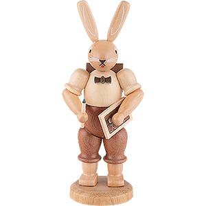 Small Figures & Ornaments Animals Rabbits Easter Bunny School Boy - 11 cm / 4 inch