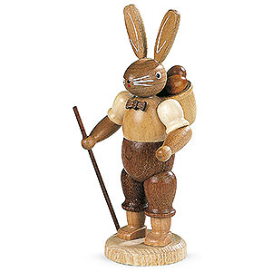 Small Figures & Ornaments Animals Rabbits Easter Bunny (male) Natural Colors - 11 cm / 4 inch