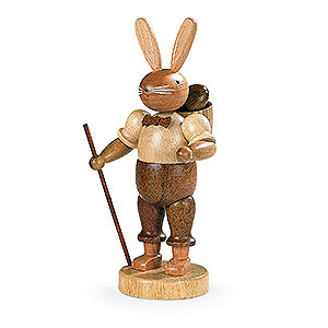 Small Figures & Ornaments Animals Rabbits Easter Bunny (male) Natural Colors - 17 cm / 7 inch
