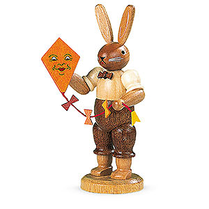 Small Figures & Ornaments Animals Rabbits Easter Bunny with Kite - 11 cm / 4 inch