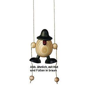 Small Figures & Ornaments Björn Köhler Eggheads small Egghead Arthur Climbing, Brown - 11 cm / 4.3 inch
