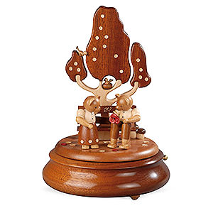 Music Boxes Electric Music Boxes Electronic Music Box - Bear Lovers on Garden Bench