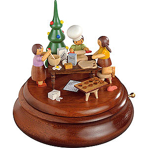 Music Boxes All Music Boxes Electronic Music Box - Christmas Bakery - Rolf Zuckowski Edition - 19 cm / 7.5 inch