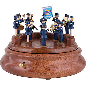 Music Boxes Misc. Motifs Electronic Music Box - Music Corps of Olbernhau - 19 cm / 7.5 inch