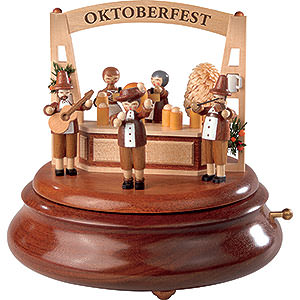 Music Boxes All Music Boxes Electronic Music Box - Oktoberfest - 19 cm / 7.5 inch