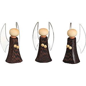 Kleine Figuren & Miniaturen Krippen Engel, 3er Set - 8 cm