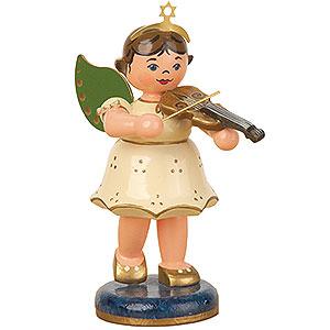 Weihnachtsengel Engel - weiß (Hubrig) Engel Geige - 10 cm