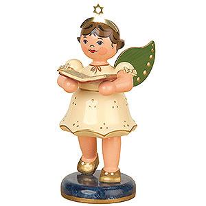 Weihnachtsengel Engel - weiß (Hubrig) Engel Gesangbuch - 10 cm