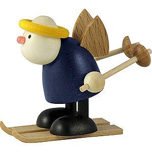 Kleine Figuren & Miniaturen Hans & Lotte (Hobler) Engel Hans mit Schneeschuh - 7 cm