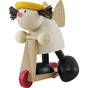 Kleine Figuren & Miniaturen Hans & Lotte (Hobler) Engel Lotte auf Roller - 7 cm