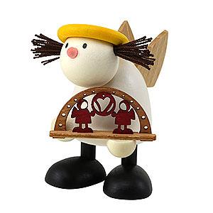 Kleine Figuren & Miniaturen Hans & Lotte (Hobler) Engel Lotte mit Schwibbogen 7 cm