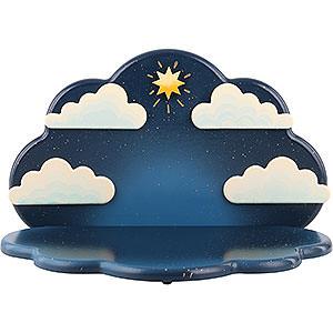 Weihnachtsengel Orchester (Hubrig) Engel Wolke stehend/hängend - 23x14x14 cm