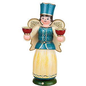 Weihnachtsengel Engel und Bergmann Engel für Kerzen - 22 cm