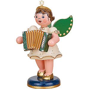 Weihnachtsengel Orchester (Hubrig) Engel mit Akkordeon - 10 cm