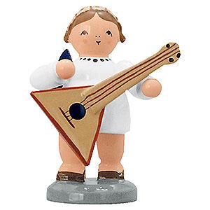Weihnachtsengel Engelsorchester (KWO) Engel mit Balalaika - 5 cm