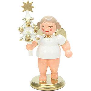 Weihnachtsengel Sonstige Engel Engel mit Baum - 7,5 cm