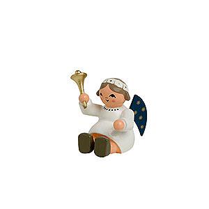 Weihnachtsengel Sonstige Engel Engel mit Glocke, sitzend - 4 cm