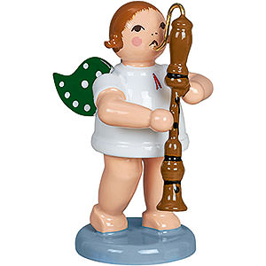 Weihnachtsengel Orchester (Ellmann) Engel mit Handtrommel - 6,5 cm
