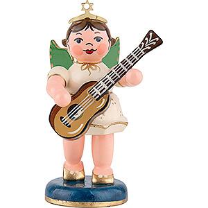 Weihnachtsengel Orchester (Hubrig) Engel mit Konzertgitarre - 6,5 cm