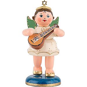 Weihnachtsengel Orchester (Hubrig) Engel mit Mandoline - 6,5 cm