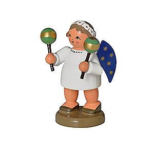 Weihnachtsengel Engelsorchester (KWO) Engel mit Maracas - 5 cm