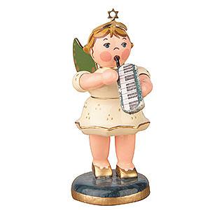 Weihnachtsengel Orchester (Hubrig) Engel mit Melodika - 6,5 cm