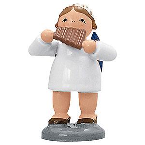 Weihnachtsengel Engelsorchester (KWO) Engel mit Panflöte - 5 cm