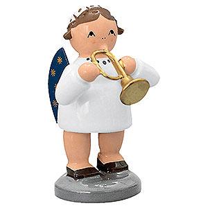 Weihnachtsengel Engelsorchester (KWO) Engel mit Trompete - 5 cm