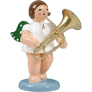 Weihnachtsengel Orchester (Ellmann) Engel mit Tuba - 6,5 cm