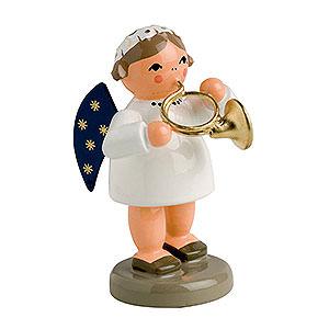 Weihnachtsengel Engelsorchester (KWO) Engel mit Waldhorn - 5 cm