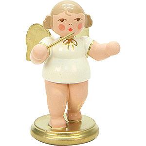 Weihnachtsengel Orchester weiß & gold (Ulbricht) Engel weiß/gold Dirigent - 6,0 cm