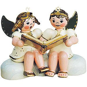 Weihnachtsengel Engel - weiß (Hubrig) Engelpaar-Weihnachtsgeschichten - 6,5 cm