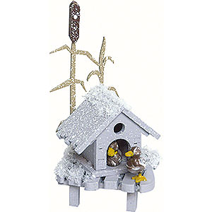 Kleine Figuren & Miniaturen Kuhnert Schneeflöckchen Entenhaus - 4 cm