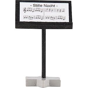 Weihnachtsengel Kurzrockengel farbig (Blank) Faltenlangrockengel Dirigentenpult, farbig - 4 cm