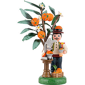 Small Figures & Ornaments Hubrig Autumn Kids Figure of the Year 2021 Orange - 13 cm / 5.1 inch