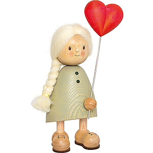 Gift Ideas Mother's Day Finja with Heart - 20 cm / 7.9 inch