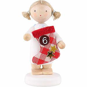 Weihnachtsengel Flade Flachshaarengel Flachshaarengel mit Stiefel (6) - 5 cm