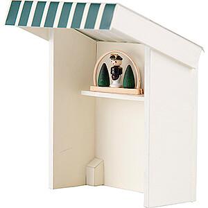 Kleine Figuren & Miniaturen Flade Flachshaarkinder Flachshaarkinder Marktbude Spielzeugmacher - 8 cm