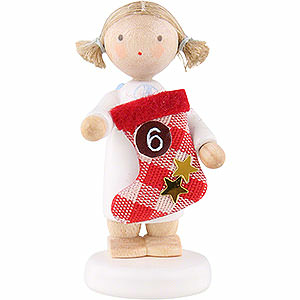 Angels Flade Flax Haired Angels Flax Haired Angel with Boot (6) - 5 cm / 2 inch