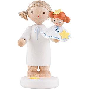 Angels Flade Flax Haired Angels Flax Haired Angel with Kathrinchen - 5 cm / 2 inch