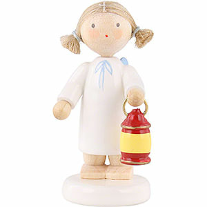 Angels Flade Flax Haired Angels Flax Haired Angel with Lantern - 5 cm / 2 inch