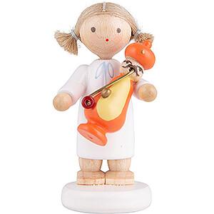 Angels Flade Flax Haired Angels Flax Haired Angel with Smoker Turk - 5 cm / 2 inch