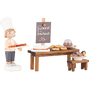 Small Figures & Ornaments Flade Flax Haired Children Flax Haired Children Candy Bakery - 5 cm / 2 inch