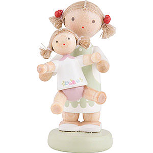Small Figures & Ornaments Flade Flax Haired Children Flax Haired Children