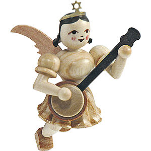 Angels Short Skirt Floating Angels (Blank) Floating Angel Banjo, Natural - 6,6 cm / 2.6 inch