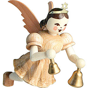 Angels Short Skirt Floating Angels (Blank) Floating Angel Bells, Natural - 6,6 cm / 2.6 inch